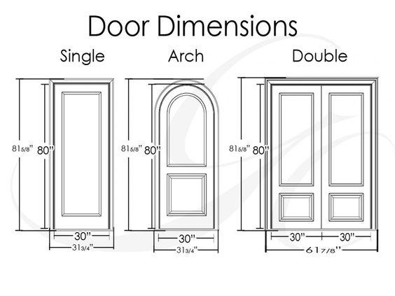 door sizes