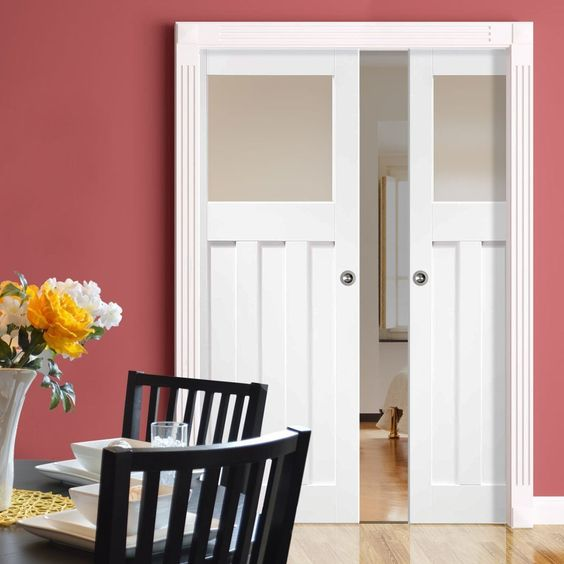 standard double door width