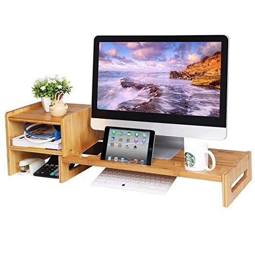small desk shelf
