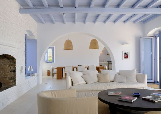 Greek living room
