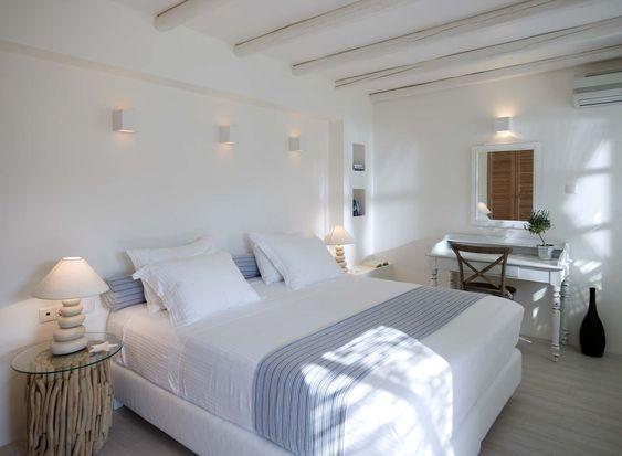 Greek bedroom