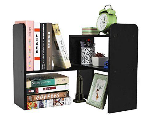 adjustable desk shelf