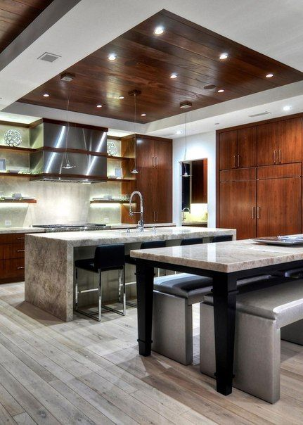 kitchen drop ceilings
