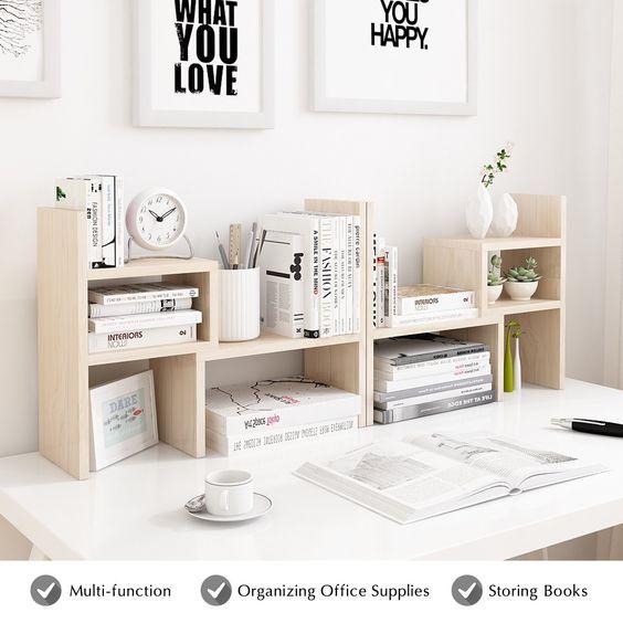 desktop shelf organizer