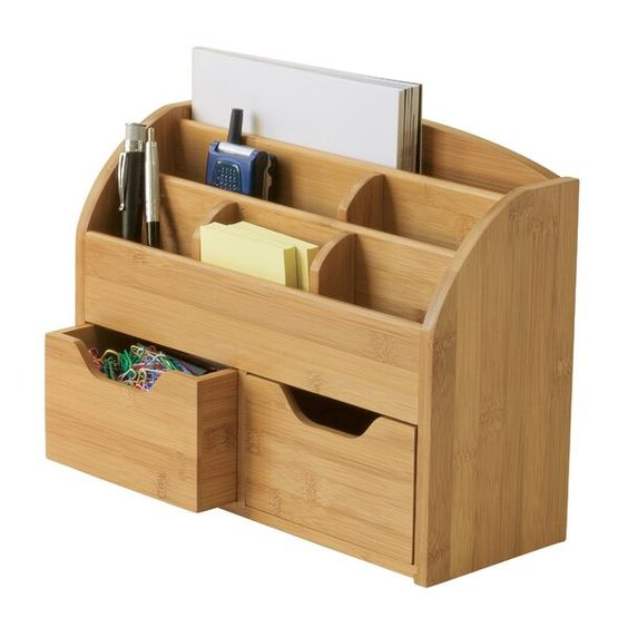 desk organizer shelf