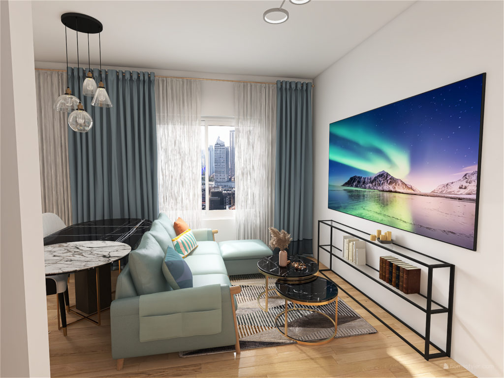 Design small one bedroom flat