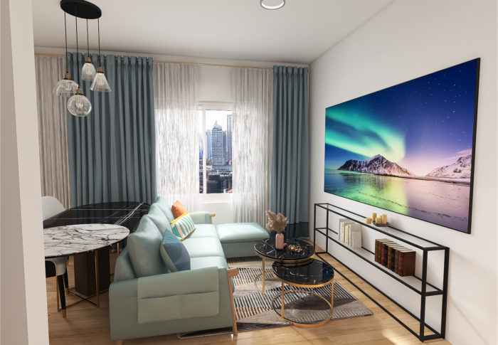 How to Decorate Small One Bedroom Flat